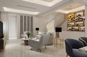 140平米別墅混搭風格客廳圖片大全