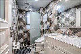 140平米三室两厅欧式风格卫生间图片大全