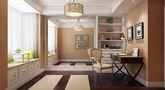 140平米现代简约风格阳光房照片墙装修案例