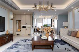 經濟型140平米四室兩廳美式風格客廳裝修效果圖