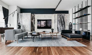 130平米三室两厅北欧风格客厅装修图片大全