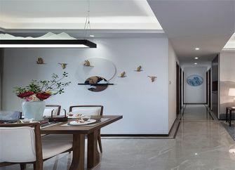 110平米三室一厅中式风格餐厅设计图