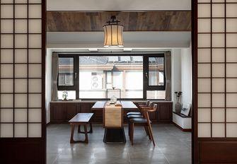 140平米别墅日式风格餐厅装修案例