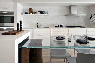 100平米三室两厅混搭风格厨房装修效果图