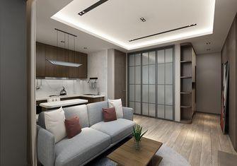 60平米公寓现代简约风格走廊设计图