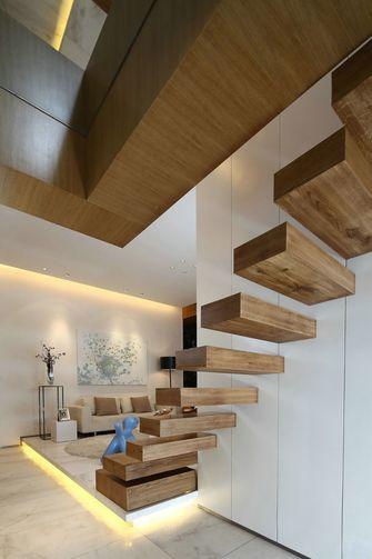 5-10万80平米现代简约风格楼梯装修效果图