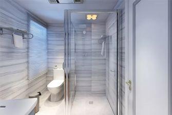 80平米三室一厅欧式风格卫生间欣赏图