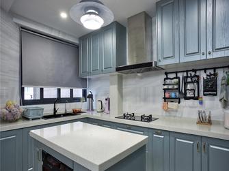 110平米三欧式风格厨房欣赏图