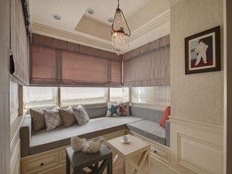 130平米三室一厅美式风格阳光房图