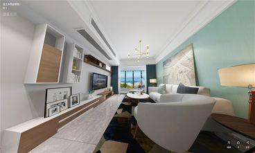 90平米北欧风格客厅图片大全