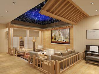 豪华型140平米别墅日式风格影音室图片大全