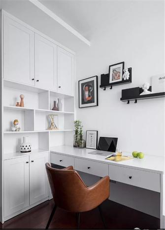 100平米三室一厅混搭风格书房装修案例