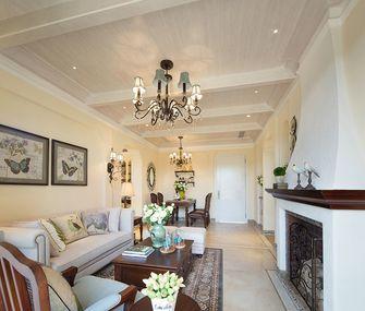 140平米三室两厅地中海风格客厅设计图