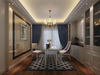 豪华型140平米别墅欧式风格书房装修图片大全