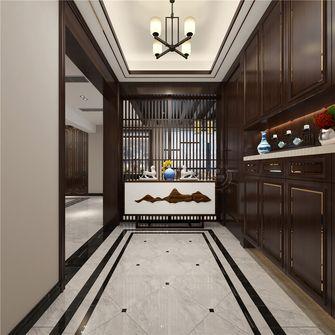 140平米四中式风格玄关设计图