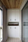 100平米三室两厅地中海风格阳台装修案例
