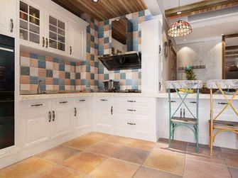 100平米三室两厅田园风格厨房装修案例