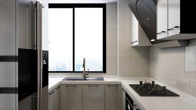 80平米三现代简约风格厨房效果图