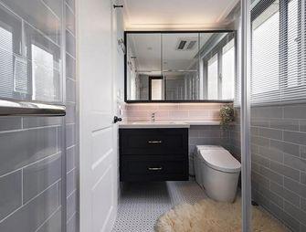 140平米三美式风格卫生间欣赏图