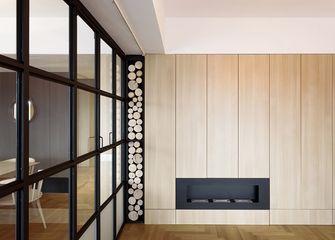 110平米三室一厅日式风格书房图片