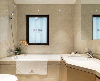 100平米三室两厅现代简约风格卫生间浴室柜装修图片大全