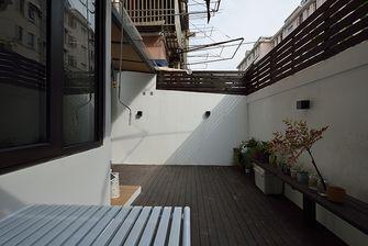 50平米小户型现代简约风格阳台图