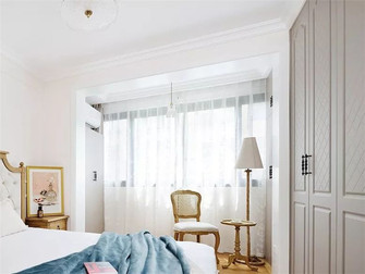 60平米一室一厅法式风格卧室效果图