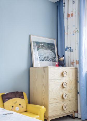 110平米现代简约风格儿童房欣赏图