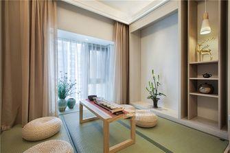 130平米四室两厅日式风格书房装修效果图