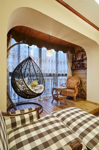 80平米三室两厅北欧风格走廊装修图片大全