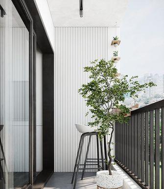 60平米现代简约风格阳台图片大全