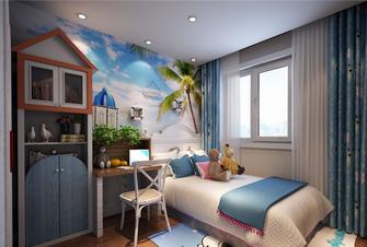 130平米三地中海风格儿童房设计图
