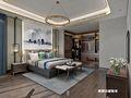 140平米四室两厅中式风格卧室设计图