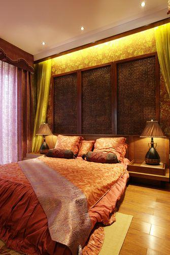 120平米三室两厅东南亚风格卧室效果图