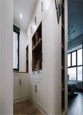 120平米三室两厅北欧风格衣帽间效果图