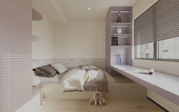 80平米三室一厅日式风格卧室装修案例