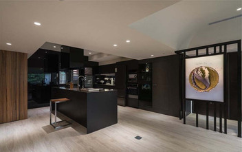 130平米三新古典风格客厅效果图