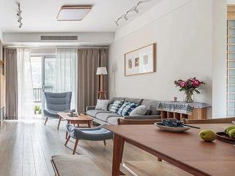 100平米三室三厅日式风格客厅装修案例