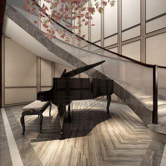 140平米复式中式风格楼梯间装修案例