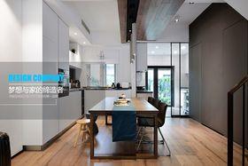 豪華型110平米三現代簡約風格廚房圖片