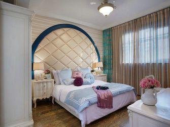 140平米三室两厅地中海风格卧室图片大全