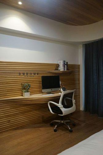 70平米一居室混搭风格书房设计图