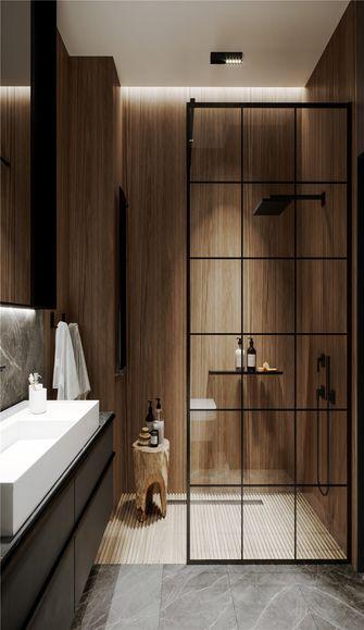 60平米一室两厅现代简约风格卫生间设计图
