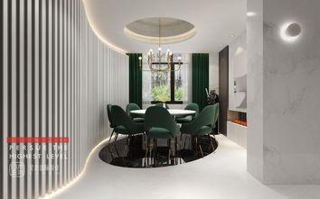 140平米别墅现代简约风格餐厅欣赏图