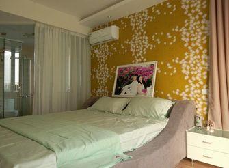 80平米田园风格卧室装修效果图