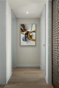130平米三室两厅其他风格走廊图