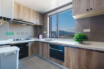 140平米四室三厅中式风格厨房设计图