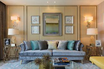 110平米三室两厅新古典风格客厅图片大全