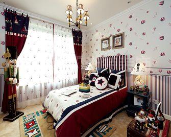 140平米四地中海风格卧室装修案例