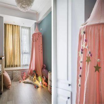 90平米三室两厅北欧风格儿童房装修案例